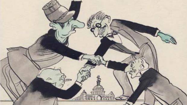 """Partidele parlamentare au avut grijă să nu-şi pună liderii faţă în faţă în colegiile electorale, conform principiului consolidat în România: """"La vremuri noi, tot noi!"""", adică dinozaurii parlamentari, indiferent de partidul de provenienţă, să rămână în continuare pe fotoliile bine plătite de contribuabilul român. Astfel, nu întâlnim nicăieri în ţară """"dueluri"""" între personalităţile din P.S.D, P.D.L. sau P.N.L., singura excepţie, cea întăritoare de regulă, fiind întâlnită doar în colegiul electoral de la Târgu Jiu, unde Dan Diaconescu, liderul unui partid nou şi cu şanse evidente de a ajunge în Parlament, îl înfruntă deliberat pe preşedintele P.S.D.-ului, actualul premier, Victor Ponta."""