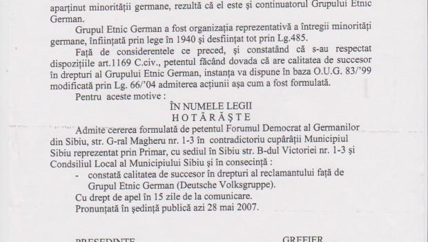 Iată cum pregătea terenul, în anul 2007, Klaus Iohannis pentru recunoaştere oficială a Forumului Democrat al Germanilor din România […]