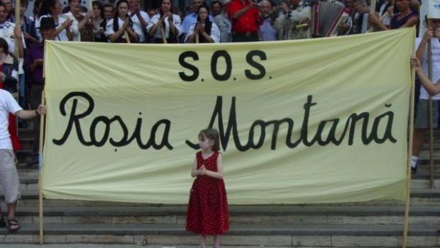"""ROŞIA MONTANĂ ÎMPINSĂ PE MARGINEA PRĂPASTIEI DE GABRIELENI  Motto: """"Munţii noştri aur poartă Noi cerşim din poartă-n poartă!"""" (Spusă […]"""