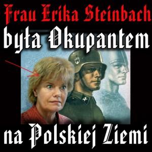 Erika Steinbach în presa poloneză.