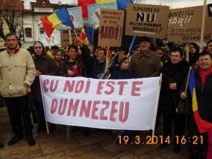 Vatra Românească la Târgu Mureş.