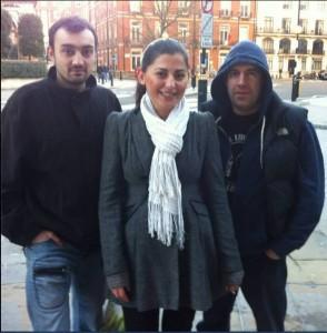 Traficantul român Zane Ioan Răzvan, şefa Bagdat Ozarslan şi traficantul bulgar Yedo Lee.