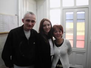 Arpad Csutor, avocata Carmen Valean și Liliana Morariu.