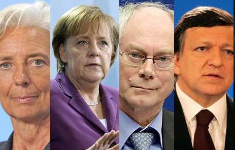 Denunțați pentru crime împotriva umanității Doi cetățeni germani i-au pârât la Haga pe Barroso, Merkel, Van Rompuy și Lagarde Liderii […]