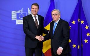Salut  masonic cu Jean-Claude Juncker.
