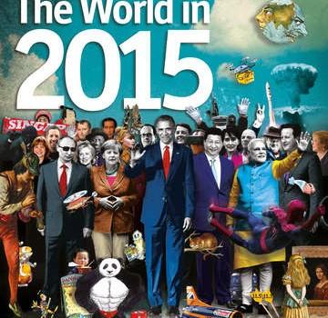 """RevistaThe Economista publicat o ediţie numită """"Lumea în 2015"""". Pe copertă apar imagini ciudate: un nor în formă de ciupercă, […]"""