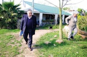 Preşedintele Uruguayului, Jose Mujica şi casa sa.