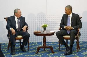 Întâlnire istorică între Barack Obama şi Raul Castro, cu ocazia Summitului Americii, în Panama.