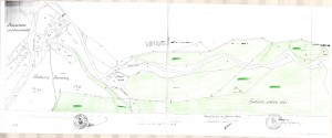 Harta Cigher - este foaia de harta topografica in care se gaseste parcela topo nr 1880/2 (inscrisa in CF 1241 Nadas conform sentintei judecatoresti). Din aceasta foaie se vede clar ca hotarul dintre satele Nadas si Minisel este reprezentat de drumul de pamant din lunca vaii Cigher, adica drumul de-a lungul vaii Cigher, care trece prin mijlocul campului (la acea vreme nu era construit drumul actual pietruit, situat pe partea stanga a vaii Cigher). Deci hotarul dintre cele 2 sate este prin fata salasului si gradinii, nicidecum drumul de coasta care urca din vale prin spatele salasului spre dealurile Miniselului.