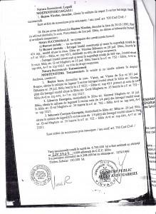Facsimil 2: Certificat de moștenitor.