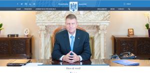 Site-ul oficial al președinției României este www.presidency.ro, de parcă Iohannis Klaus Werner ar fi președintele SUA. Pe acel site nu o să găsiți tricolorul românesc, culoarea predominantă fiind albastrul masonic. Pentru români doar situația este albastră!