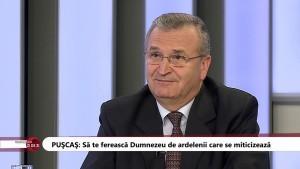 """Vasile Pușcaș, cel care împarte românii în ardeleni și """"mitici""""."""
