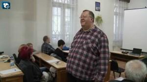 Profesorul Michael Szellner.
