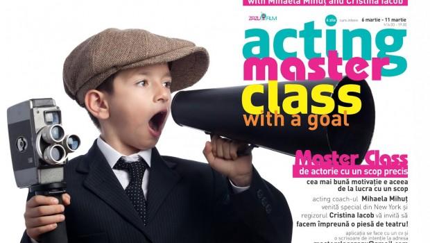 Învățând tehnica Metodei, folosite de actorii de la Hollywood Participanții la atelierul de actorie susținut de Mihaela Mihuț, membră […]