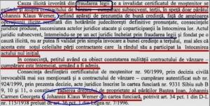 Extras din motivarea Tribunalului Brașov.