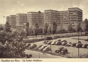 SediuI I.G. Farben de la Frankfurt.