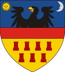 Ungurii au simbol acvila neagră, secuii soarele și luna și sașii cele șapte turnuri.
