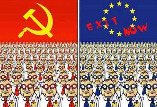 Este uimitor că după ce am îngropat un monstru, URSS, construim un altul, întru totul asemănător: Uniunea Europeană. […]