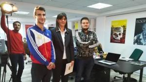 "Laura Codruța Kovesi în redacția revistei ""Vice""."