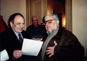 Gabriel Liiceanu și Andrei Pleșu în cuibul 'telectualilor lui Soros de la Grupul pentru Dialog Social (GDS).