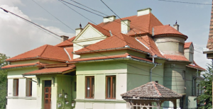 Imobilul din strada Munteniei, nr. 42, cunoscut sibienilor ca vila Rochus.
