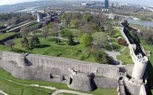 Fortăreața belgrădeană Kalemegdan.