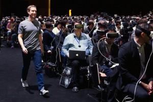 Mark Zuckerberg și Realitatea Virtuală.