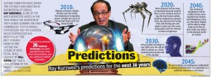 Ray Kurzweil predicții pentru următorii 30 de ani.