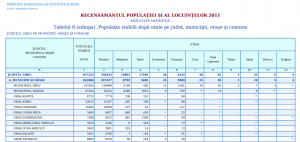 Populația municipiului Sibiu după etnii. Click pe imagine pentru mărire!