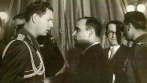Tovarășii Mihai Eitel von Hohenzollern-Sigmaringen și Gheorghe Gheorghiu-Dej.