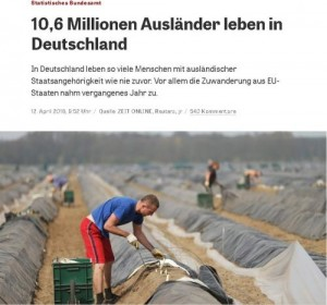 imigranți în Germania