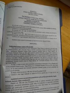 Deşi prin Încheierea din Camera de consiliu din 8 iunie 2016 pronunţată în dos. 6638/320/2016 fără cale de atac instanţa i-a respins cererea, în 13 iunie 2016 Puia s-a prezenat pentru evacuarea silită cu forţele de ordine.