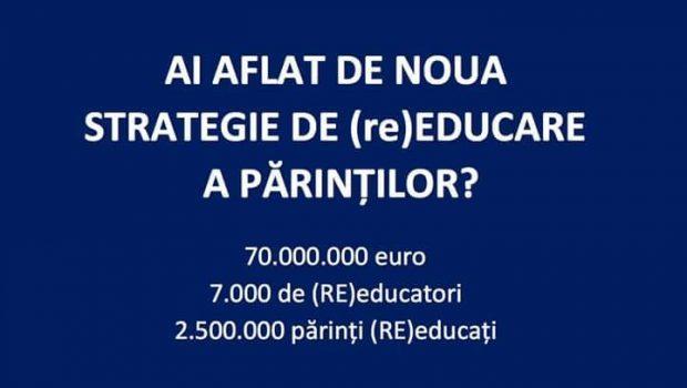 Frați români, trimiteți opiniile dumneavoastră la Ministerul Educației Naționale până pe 11 iulie, dată până la care această mizerie […]