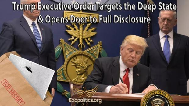 O importantă știre bombă: Un ordin executiv al lui Trump vizează cu mult curaj Guvernul din umbră... … și […]