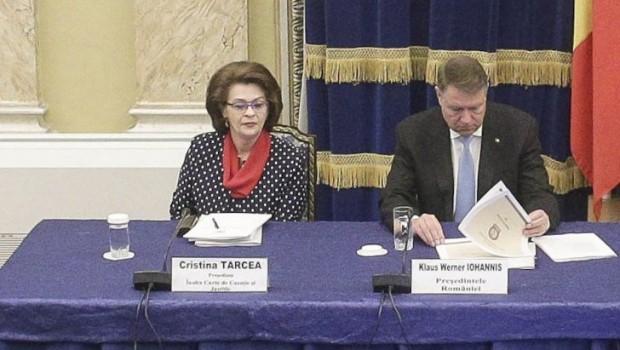 """Cristina Tarcea, președinta Înaltei Curţi de Casaţie şi Justiţie, fragment din cuvântarea de la bilanțul Parchetului General: """"Am avut […]"""