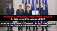 În cele patru pagini ale ACORDULUI POLITIC NAȚIONAL pentru consolidarea parcursului european al României, care sub semnături are doar […]