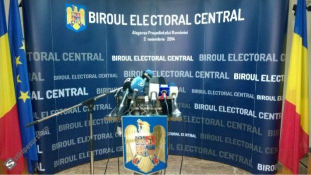 Biroul Electoral Central a anunţat că sesizează organele de urmărire penală cu privire la candidaţii înscrişi la alegerile prezidenţiale […]