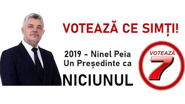 Ninel PEIA – Un Președinte ca NICIUNUL – Nr. 7 pe buletinul de VOT Toți știm acum ce […]