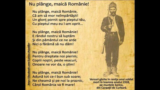 Președinte Român!           oricine-ar fi ales dintre […]
