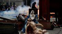 Santiago, Chile: Italia Plaza, a fost folosită timp de trei săptămâni ca principal loc de adunare pentru manifestațiile de […]