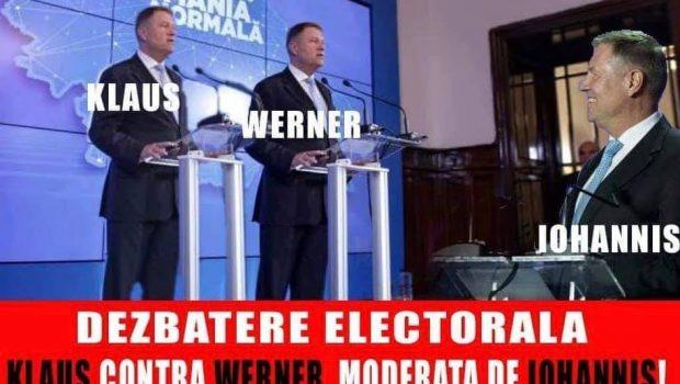 Mesaje primite la Cotroceni cu ocazia Dezbaterii epocale organizate de tovarășul Klaus Werner Iohannis Naționala de fotbal: Stimate și […]