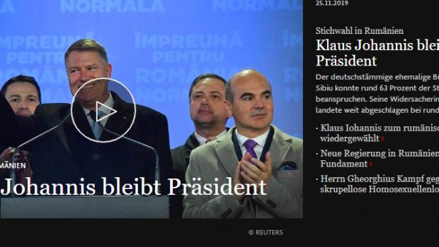 Prezidențiale: un ordin de zi pe unitate în presa străină Clica ex-comuniștilor, a suveraniștilor cu camuflaj de […]
