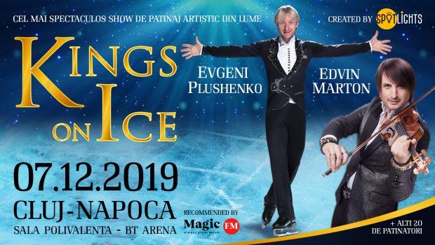 """Motto: """"Celebrul patinator Evgeni Plushenko vine în premieră mondială, în România, la Kings On Ice, alături de fiul său, […]"""