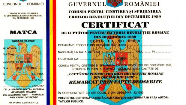 MAFIA Certificatelor Revoluționare