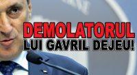 Cine și-l mai amintește pe Gavril Dejeu? Avocatul prestidigitator care a contribuit adulterin-politic la moartea PNȚCD, care a preferat […]