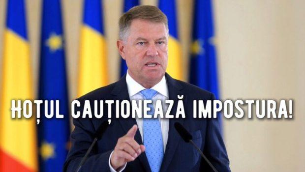 Hoțul de case ajuns președinte de țară, Klaus Iohannis, a ajuns până acolo încât explică impotența, impostura și vânzarea […]