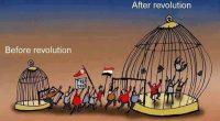 """ILUZIA LIBERTĂŢII ÎNTR-O LUME CAPTIVĂ """"Una peste alta, revoluţia a fost o farsă politică, izbutită graţie […]"""