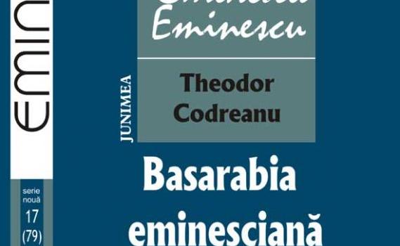 """""""Basarabia Eminesciană"""" se intitulează o merituoasă carte, apărută în Colecția """"Eminesciana"""" a Editurii """"Junimea"""". Autorul, Theodor Codreanu, prin tot […]"""