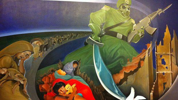 Această monstruozitate prezentă pe pereţii Aeroportului Internațional Denver şi care poartă numele de pictură înfăţişează o entitate ce pare […]