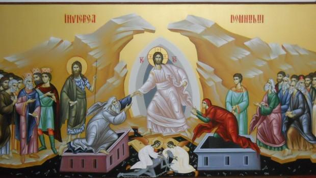 Hristos a înviat din morți, Cu moartea pe moarte călcând, Și celor din morminte, Viață dăruindu-le! Hristos a înviat […]